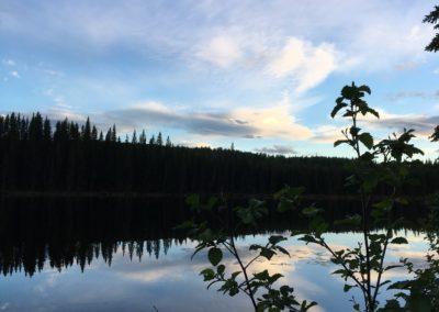 blaue Stunde am Andy Bailey Lake