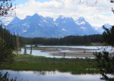junger Athabasca River