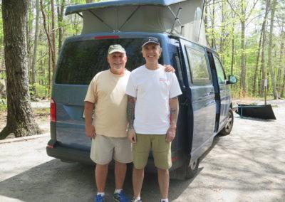 Mike+Steven, Camp-Hosts