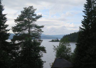 Blick nach Norwegen
